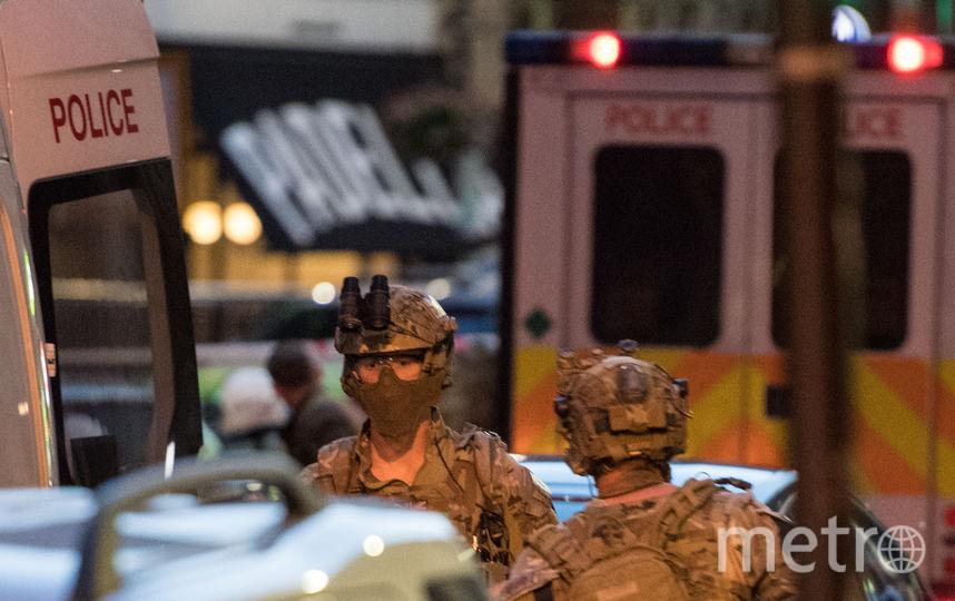 С места событий. Фото AFP