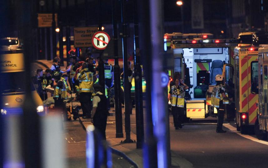 В Лондоне произошел теракт. Фото AFP