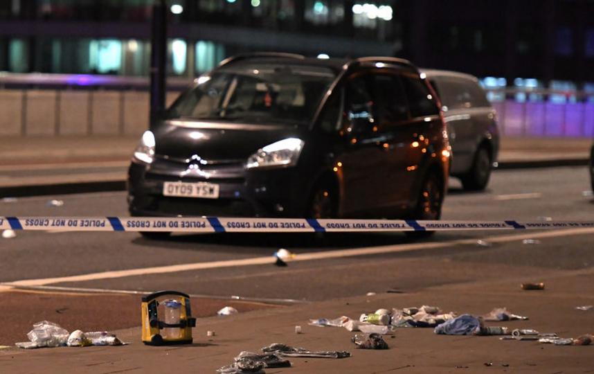 Ночной теракт в Лондоне - фотоархив. Фото AFP