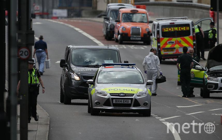 Место теракта в Лондоне. Фото AFP