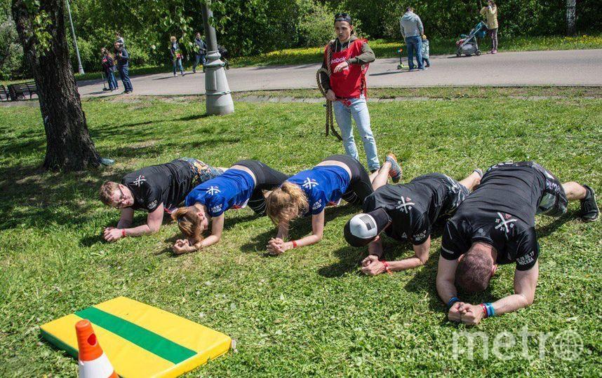 Забег Reebok в Москве. Фото предоставлены организаторами