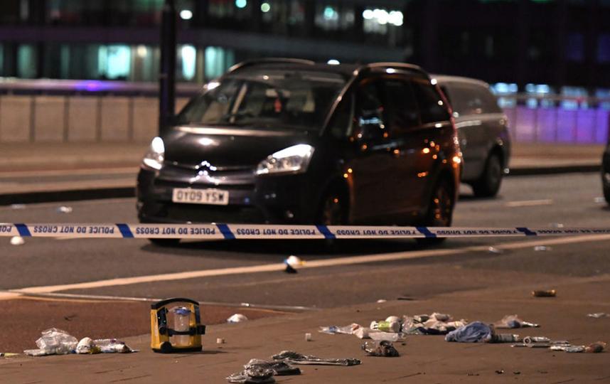 Российский врач оказался в эпицентре событий теракта в Лондоне. Фото AFP