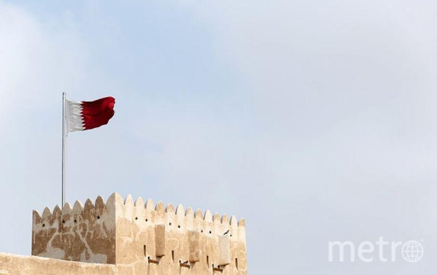 Флаг Катара. Фото Getty