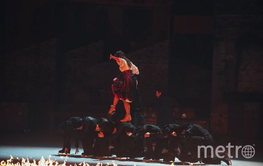 Фрагмент шоу «Кармен». Фото предоставлено организаторами.