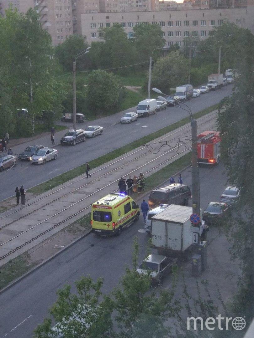 В смертельном ДТП на Купчинской улице погибла петербурженка. Фото «ДТП и ЧП | Санкт-Петербург», vk.com