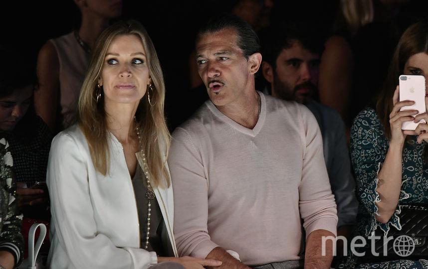 Антонио Бандерас и Николь Кемпел. Фото Getty