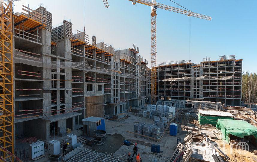 """ЖК """"Ломоносов"""" - фото со строительства."""