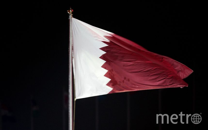 Государственный флаг Катара. Фото Getty
