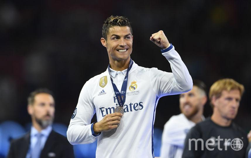 Критиану Роналду в финальном матче Лиги чемпионов. Фото Getty