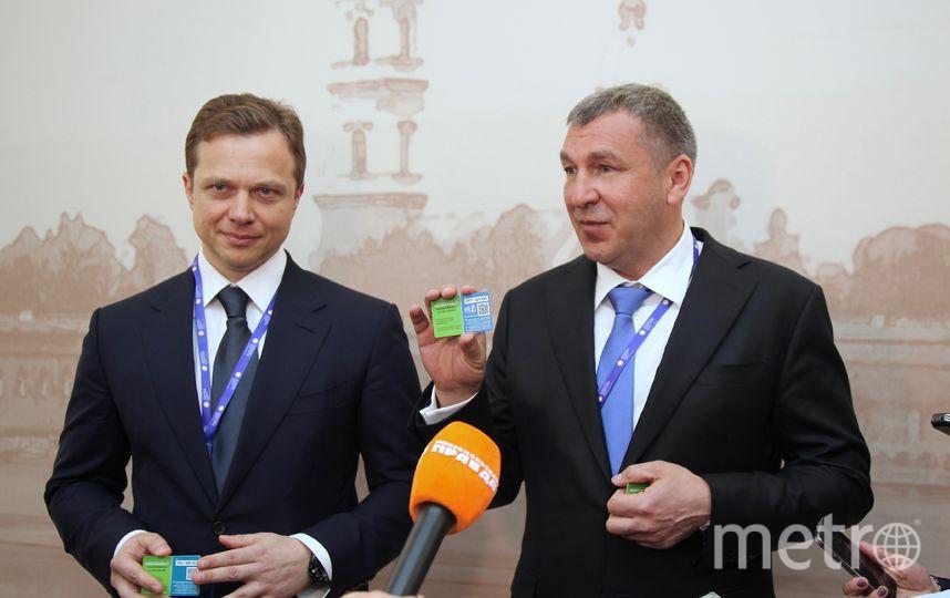 Карту представили на ПМЭФ. Фото gov.spb.ru