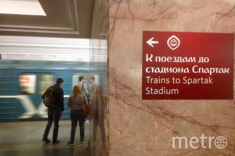 """Новые указатели появились на 84 станциях. Фото Василий Кузьмичёнок, """"Metro"""""""