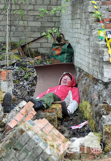 """Учения на полигоне. Фото Анна Лутченкова, """"Metro"""""""
