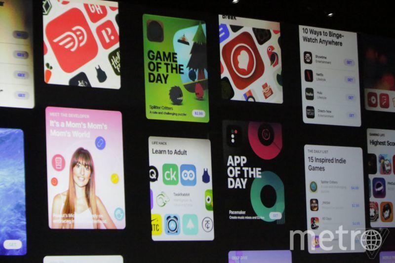 Обновлённый AppStore. Фото Theverge.com