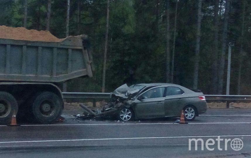 Очевидцы: В жутком ДТП в Ленобласти погибла женщина. Фото «ДТП и ЧП | Санкт-Петербург», vk.com