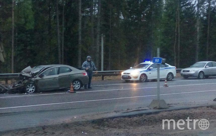 Двое погибли вДТП натрассе «Скандинавия» под Выборгом