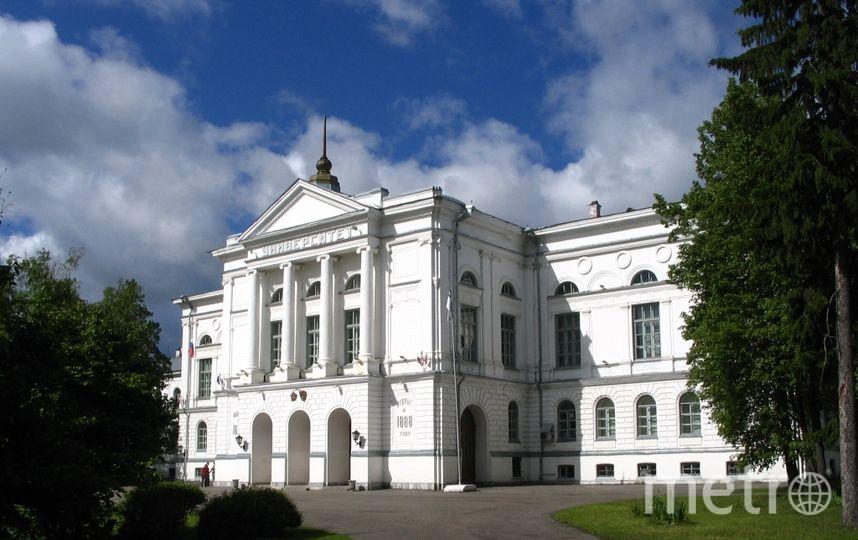 Главный корпус ТГУ. Фото Wikipedia/Maximaximax