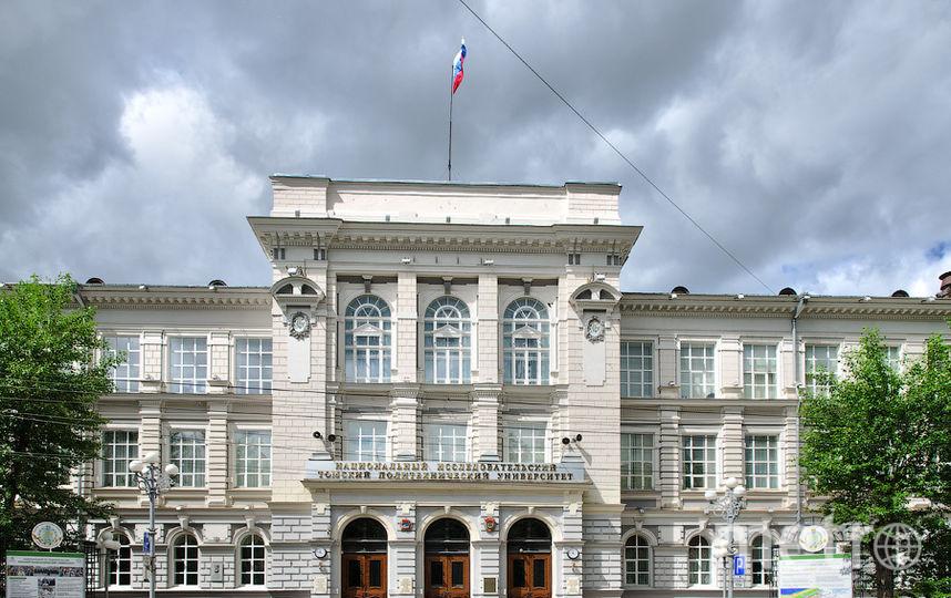 Главный корпус ТПУ. Фото Wikipedia/Павел Андрющенко.