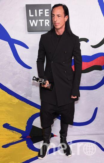 CFDA Fashion Awards-2017. Рик Оуэнс. Фото Getty
