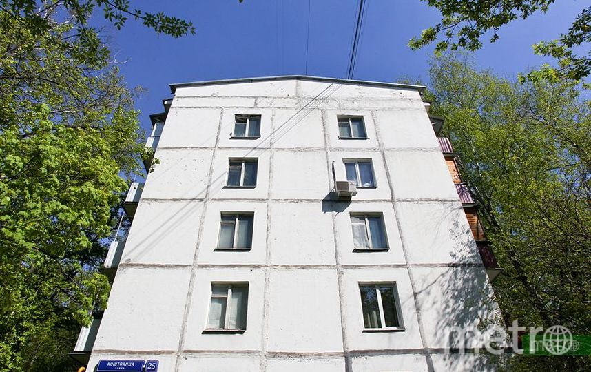 Столичные пятиэтажки. Фото Василий Кузьмичёнок
