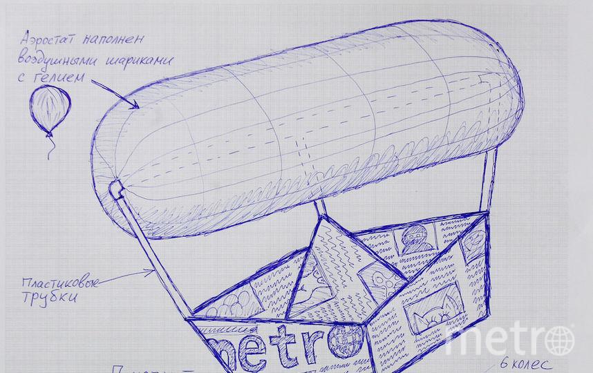 "Наша команда запустит на воду корабль Metro. Фото Василий Кузьмичёнок., ""Metro"""