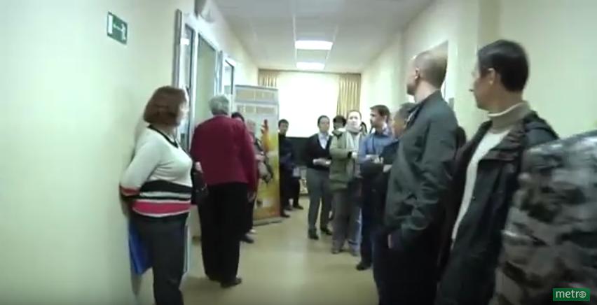 В Саентологической церкви Петербурга прошли обыски. Фото Скриншот Youtube