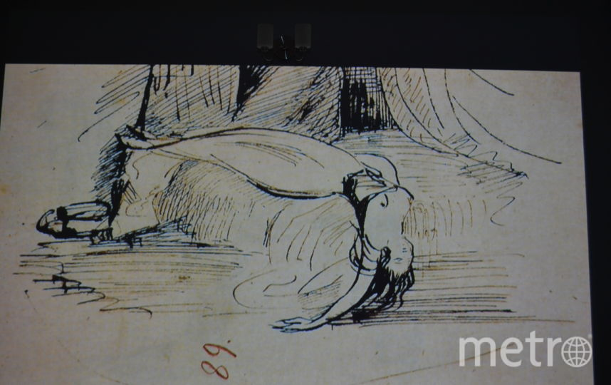 """Эротические рисунки Пушкина представлены на проекте """"Сказки про это""""."""