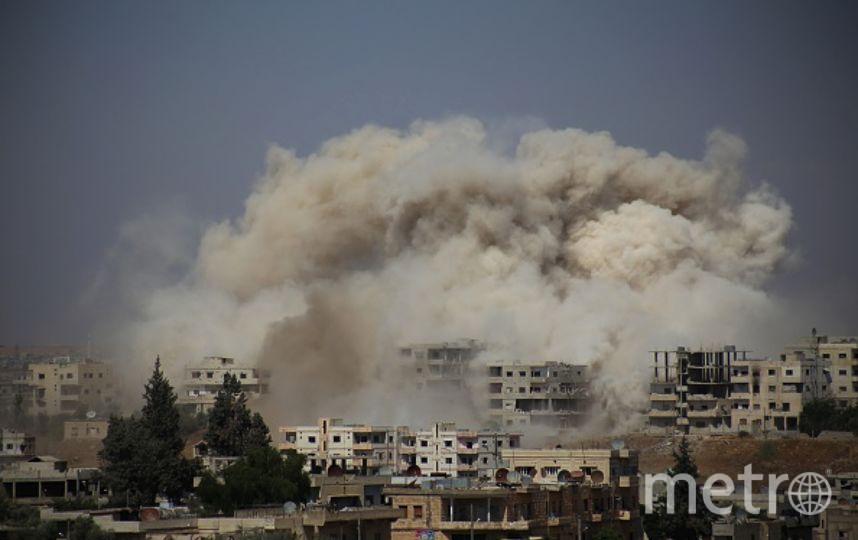 Коалиция во главе с США нанесла авиаудар по Сирии. Фото Getty