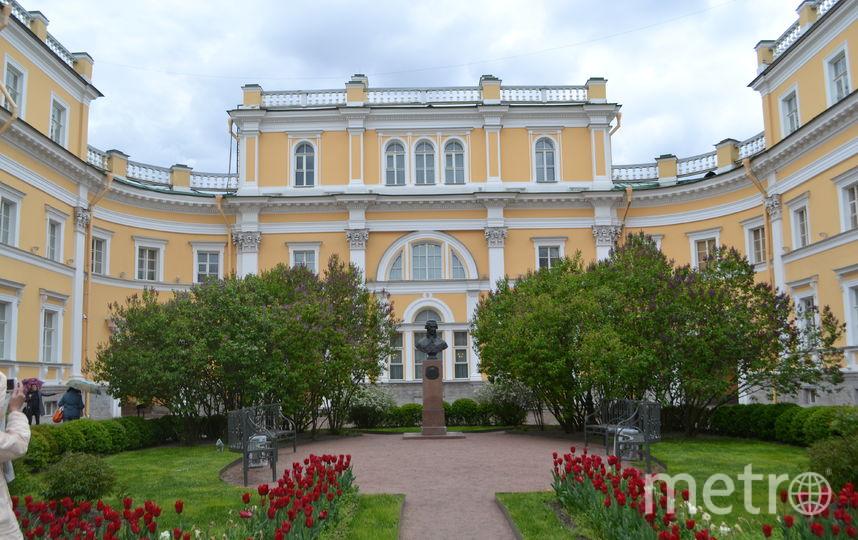 Усадьба Державина в Петербурге.