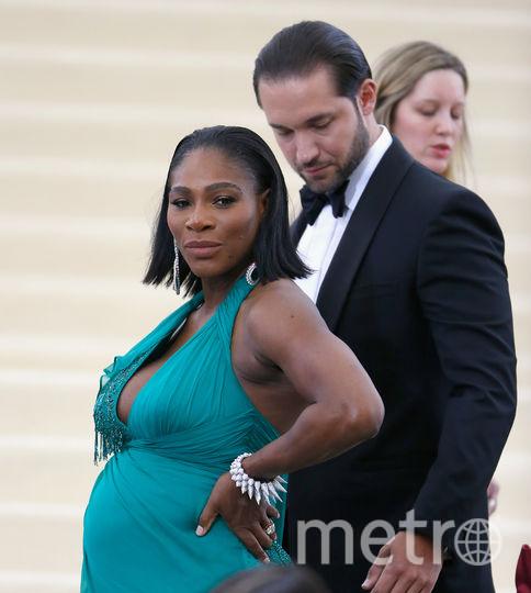 Серена Уильямс ждет ребенка от своего жениха Алексиса Оганяна. Фото Getty