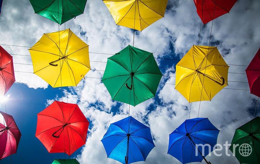 «Аллея парящих зонтиков» откроется вПетербурге