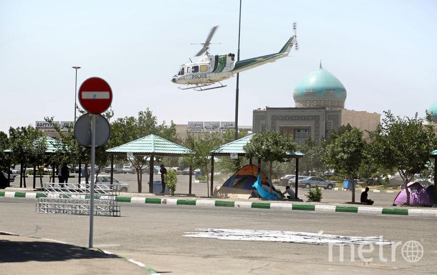 Теракт в Тегеране. Фото AFP