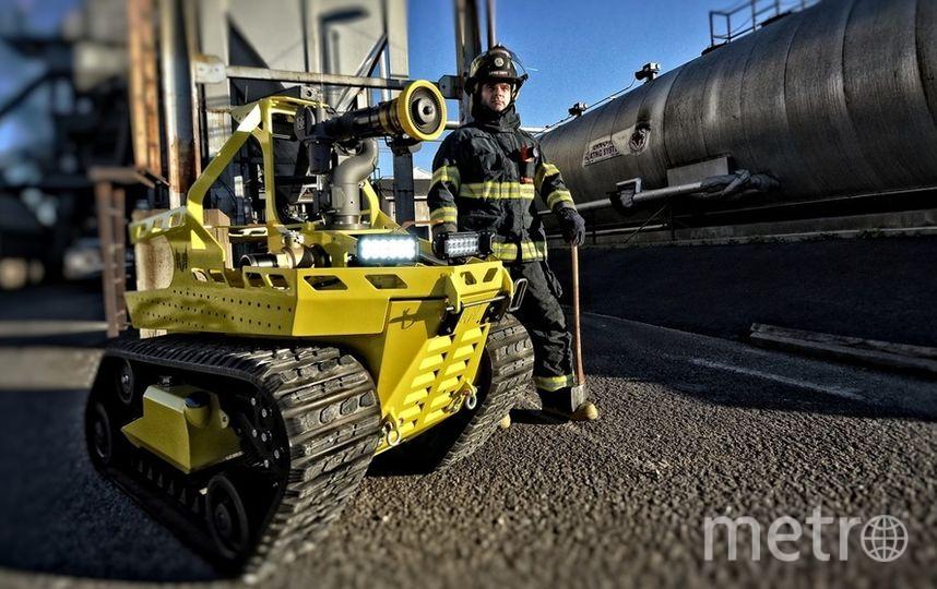 """Робот-пожарный. Фото """"Metro"""""""