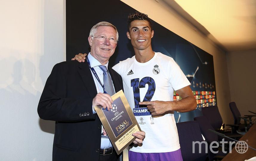"""Нападающий мадридского """"Реала"""" Криштиану Роналду. Фото Getty"""