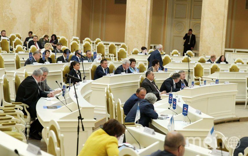 Собрание ЗакС 7 июня - фотоархив. Фото assembly.spb.ru