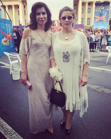 """Екатерина Волкова и Юлия Куварзина. Фото """"Инстаграм""""."""