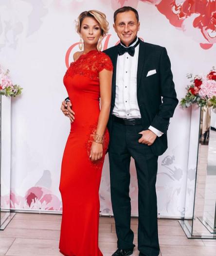 Вадим Галыгин с женой Ольгой. Фото Instagram Вадима Галыгина