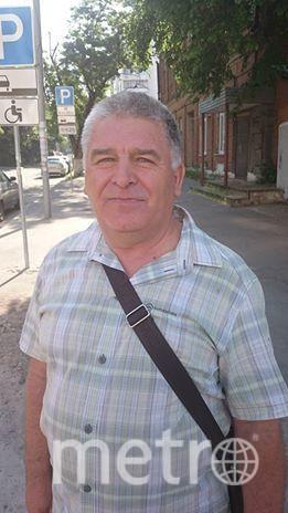 Пенсионер Виктор Матюхин. Фото Станислав Купцов.