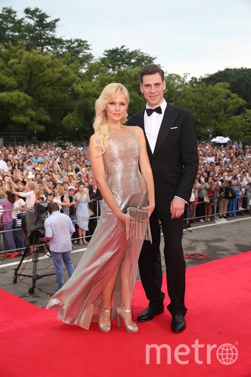Дмитрий Дюжев с женой Татьяной. Фото Фото предоставлено организаторами фестиваля