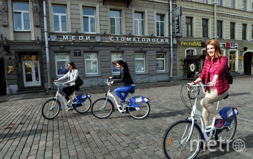 Пользователи велопроката – это любители активного образа жизни.