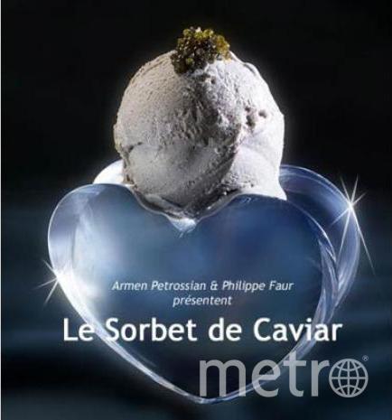 """Мороженое из икры. Фото Хуан Вальдес., """"Metro"""""""
