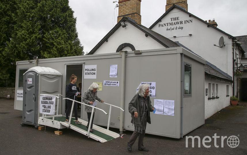 Досрочные выборы в Британии. Фото AFP