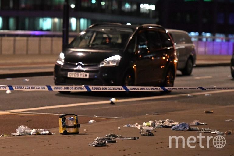 Теракт в Лондоне, 3 июня. Фото AFP