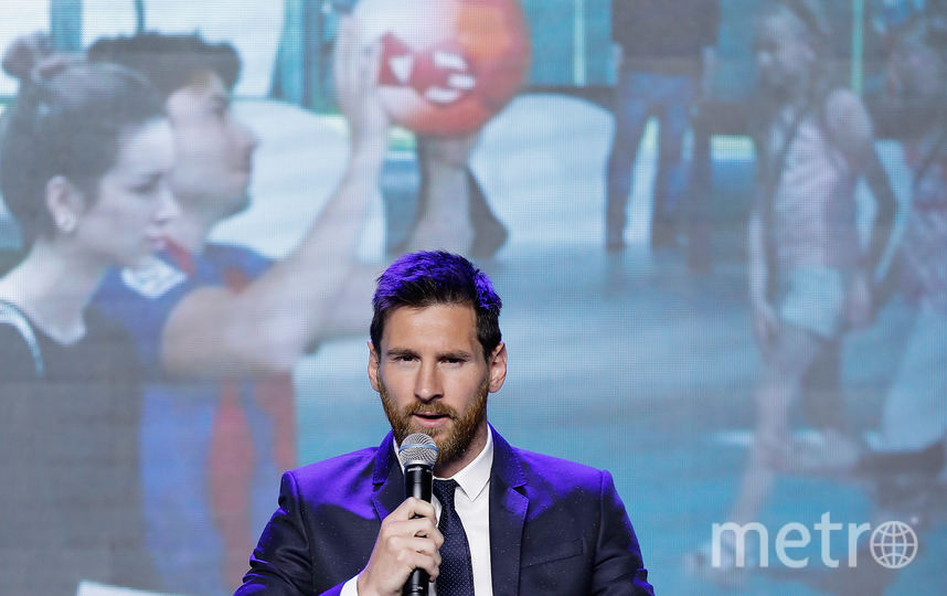 "Нападающий ""Барселоны"" и сборной Аргентины Лионель Месси. Фото Getty"