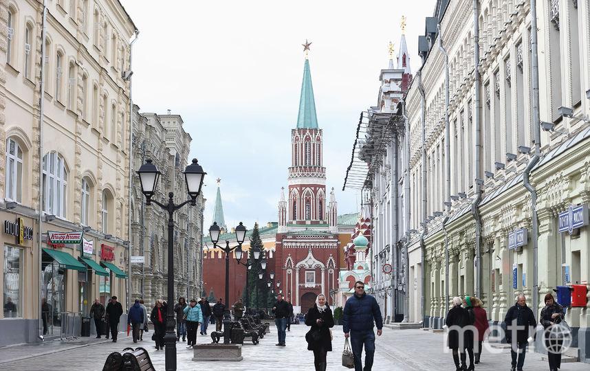 Улица Никольская, Москва. Фото Getty