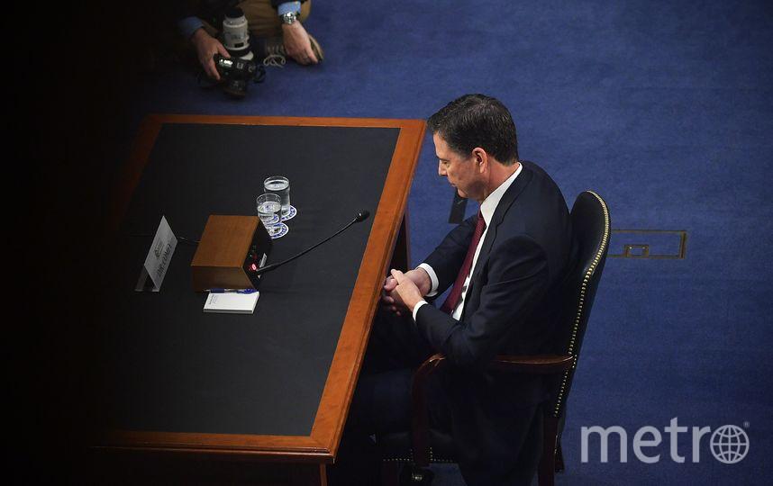 В Вашингтоне продолжаются слушания Джеймса Коми. Фото AFP
