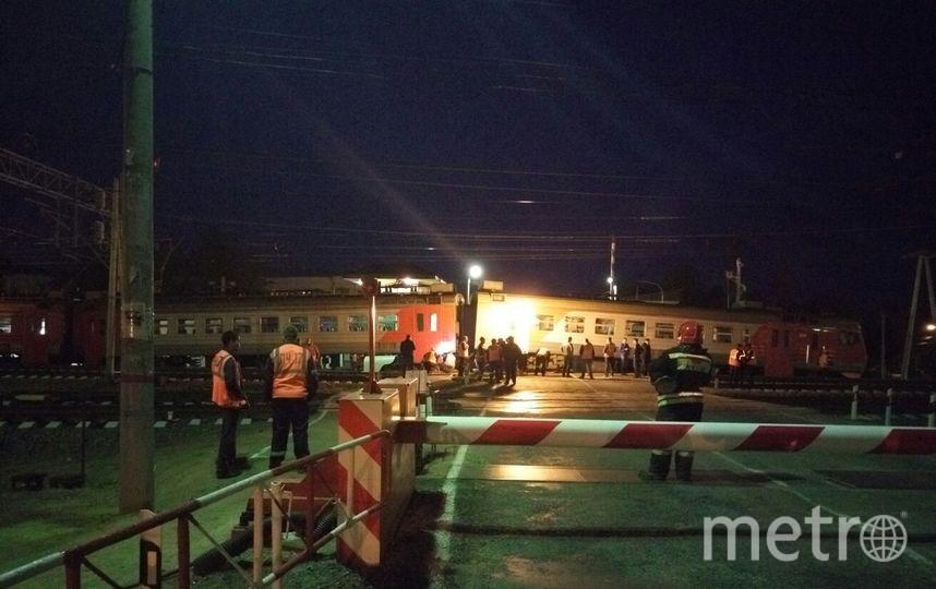 В начале первого ночи работы продолжались. Фото Костя Власов ДТП и ЧП / Санкт-Петербург, vk.com
