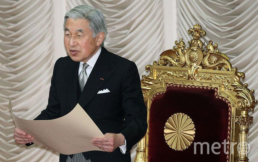 Император Японии Акихито. Фото Getty