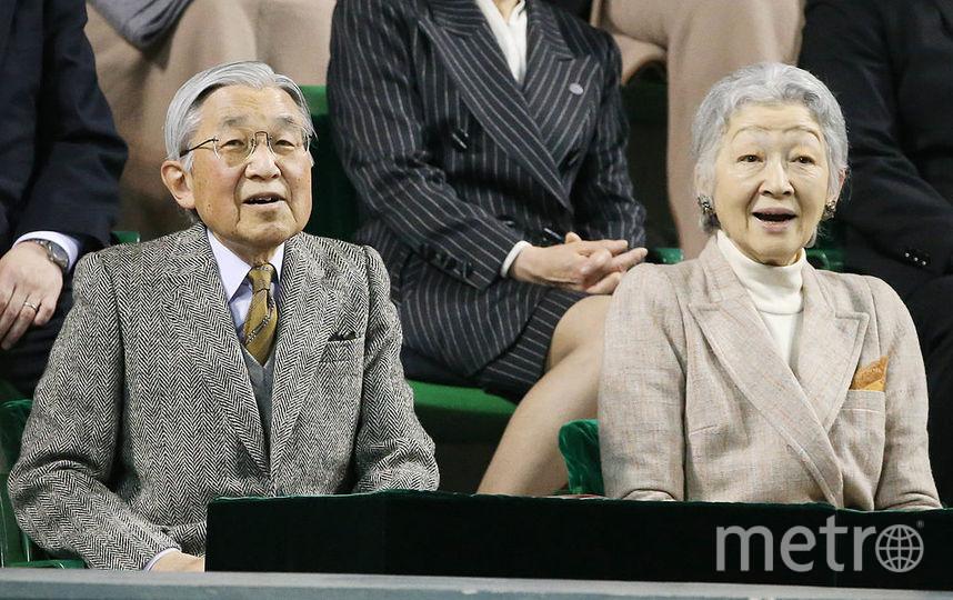 Император Японии Акихито с женой Сёда Митико. Фото Getty
