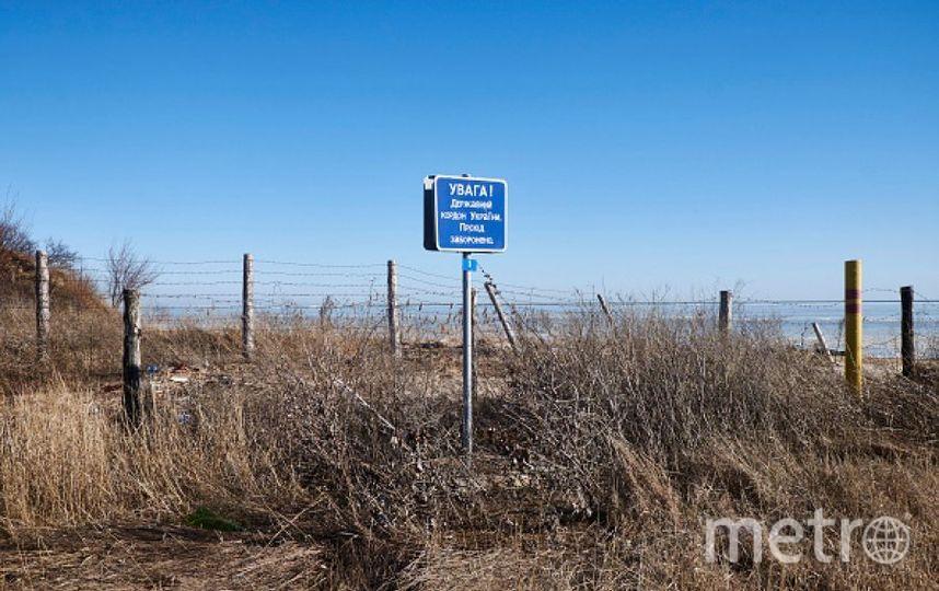 Украинская граница. Фото Getty