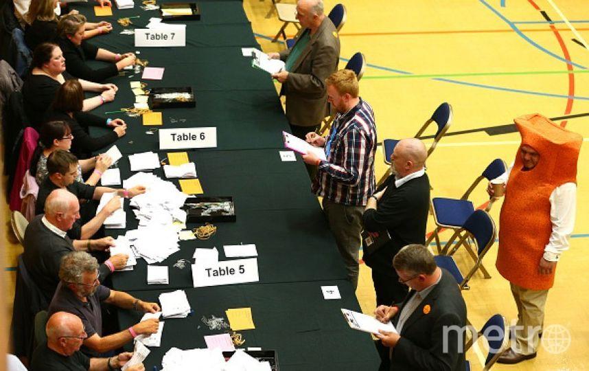 Про голосования в Великобритании. Фото Getty